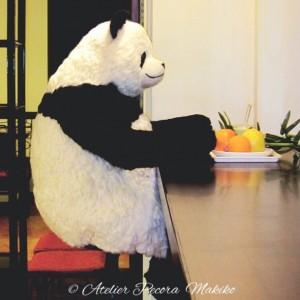 超BIGサイズパンダ「Pecora」 カウンター