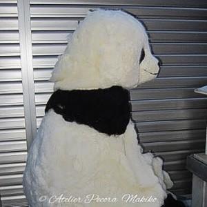 超BIGサイズパンダ「Pecora」 製作中