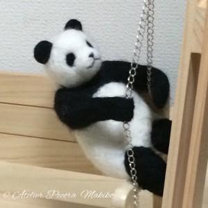 ただ「作った」パンダ