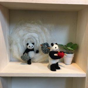 癒しパンダと秘密の通路